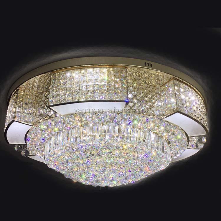 nuevo diseo moderno de metal base de la decoracin de interior luces de cristal k lmpara