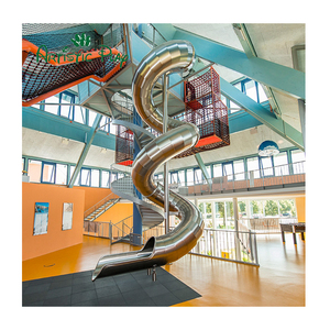 Hot Sale Customized Playground Kids Indoor Stainless Tube Steel Slides