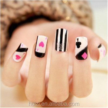 2D America Cartoon design nail polish sticker/wraps/strips