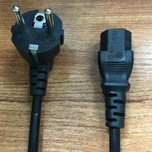 220v power cord EU standard Plug IEC C13 female end type VDE Certification power cable