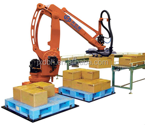 Efficient Industrial Robotic Arm 6 DOF Automatic Palletizer robot
