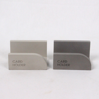 Fancy Desktop Special Cement Cute Concrete Business Card Display Holders