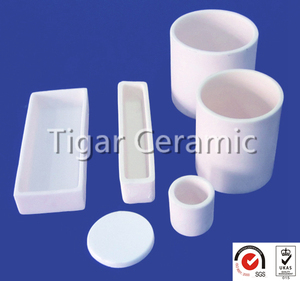 zirconia ceramic crucible with good quality assurance and longer service lfe