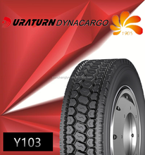chinese factory tyre Y103 11r22.5 radial truck tyre low price neumatico para camion