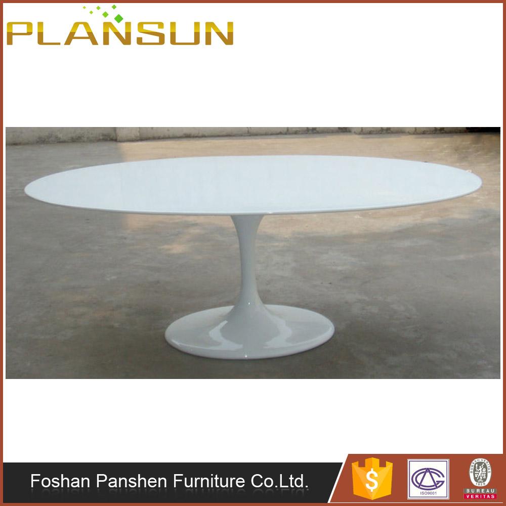Home Furniture Eero Saarinen Replica Fibre Gl Tulip Oval Dining Table