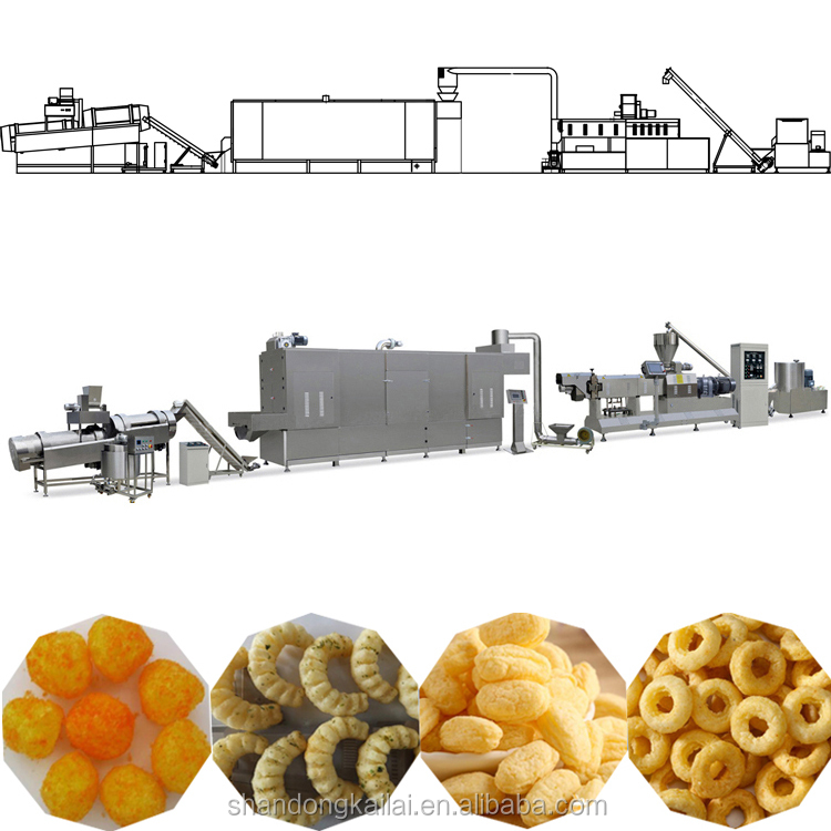 Industrial Small Scale Corn Food Extrusion Processing Machines - Buy Small  Scale Food Processing Machines,Food Extrusion Machine Product on