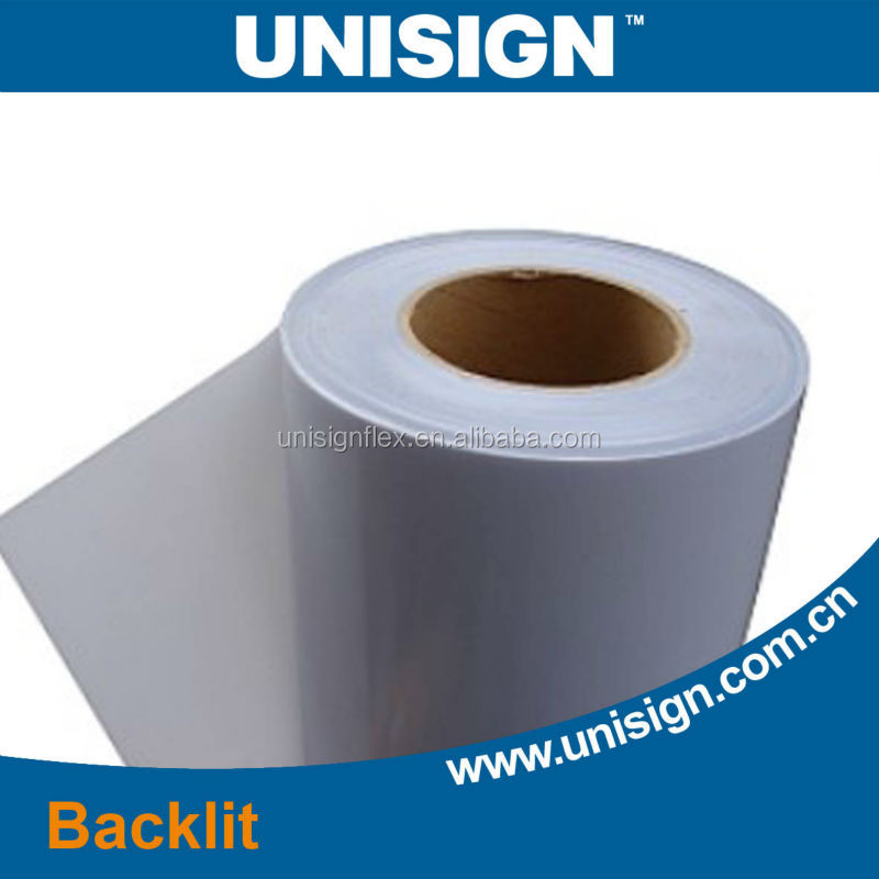 Unisign Water proof construction PVC Coated Backlit Flex Banner Stand