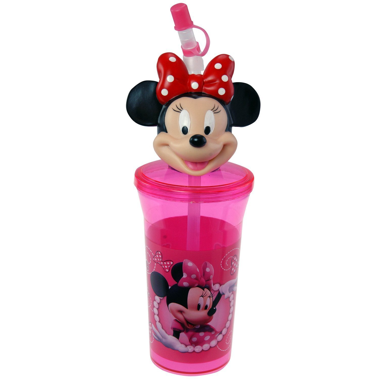 Bottle Tumbler Toys Perfect for Birthday Party Favor Goodie bags - Minnie Mouse by Disney