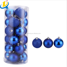 High quality colorful wholesale round plastic giant Christmas ball
