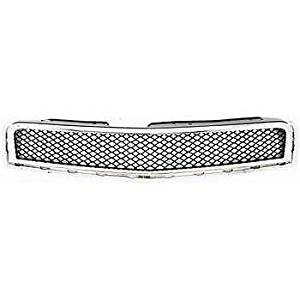 Diften 102-A1975-X01 - New Grille Assembly Grill Chrome shell black insert Traverse GM1200615 15943196