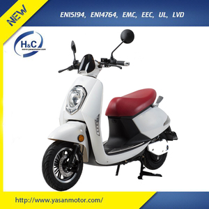 Comfortable electronic motorcycle e motorcycle white 800w e scooter for adult