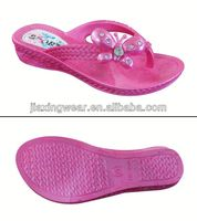 Once Injection children nude beach slipper/summer slippers for footwear and promotion