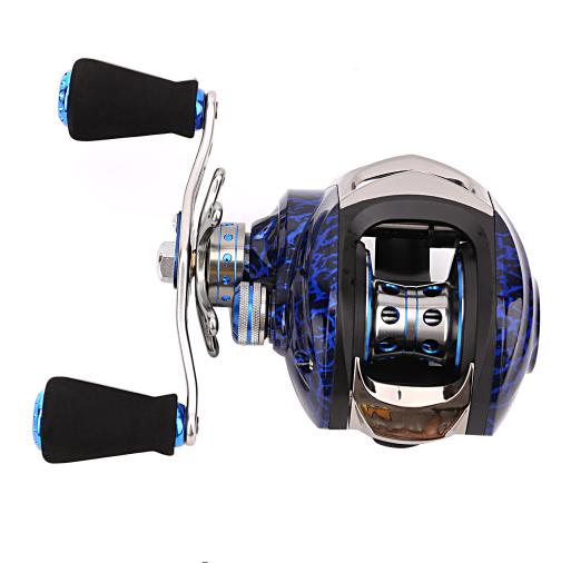 LB 14+1BB 6.3:1 low profile reel Baitcasting Wheel Fishing reel Carp Bait Casting Fishing Reels Carretilha de pesca Daiwa