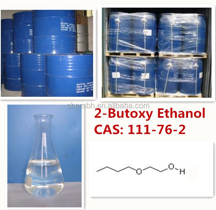 paint raw materials CAS 111-76-2 butyl glycol Ether/2-Butoxyethanol (BCS) with best price