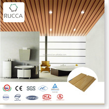 Hot sale building materials WPC composite board, lows cheap wall paneling 203*15mm China construction companies