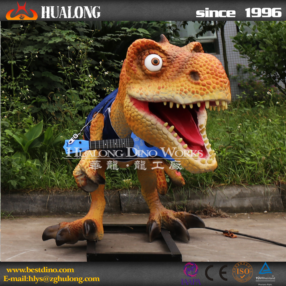 Outdoor High Simulation Dinosaur Model for New Kids Attractions
