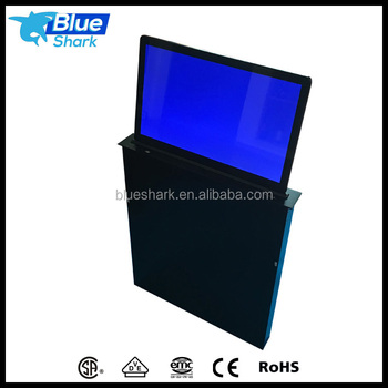 Automatic Motorized LCD monitor lift for meeting room