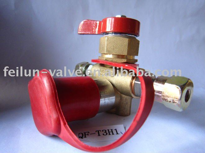 QF-T3H1 Brass NGV/CNG Filling Valve with CNG Filling Adaptor(20MPa,25MPa)