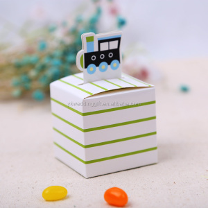 fancy Just Arrival Baby Shower Precious Cargo Train Favor Box wedding cangdy boxes gift box