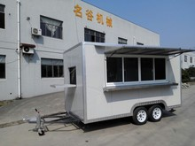 Mobile Food Carts,Street Food Cart,Food Truck Ice cream Cart/Van/Truck hand push food truck for sale