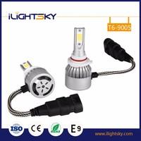 2017 new T6 cob h1 h3 led head lamp and h9 h11 h4 h7 9005 9006 led headlight bulb for 9005 9006 auto car led headlight