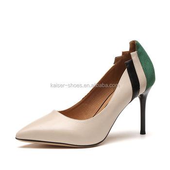 fa1a6f3fba3f 2018 New Design Girl Dress Shoes Fancy Lady High Heel Shoes ...