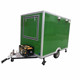 churros food trailer food push cart electric heated food cart