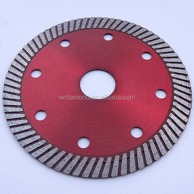 All kinds of Turbo Wave Continuous Rim Diamond saw blade for cutting all granite and concrete