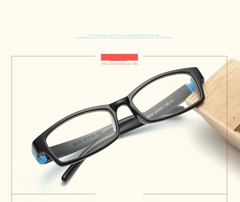 Bendable No Screw Kids Frame Glasses Flexible Children ...