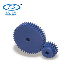 Small plastic gears differential gear