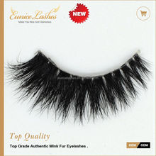 Premium clear band lashes natural 3d real mink lashes