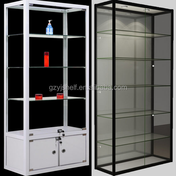 Display Cabinet High Tall Gl