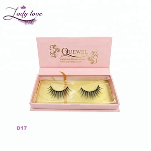 Natural False Eyelash Private Label Mink Eyelashes 3D Silk Lashes