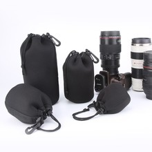 DSLR Camera Lens Pouch Camera Lens Carry Bag Neoprene Waterproof Material S M L XL SIZE lens bag kit
