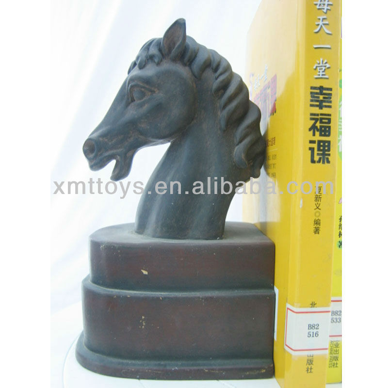 black horse head wholesale bookends