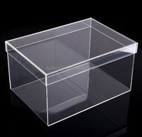 Plexiglass Shoe Box Clear Shoe Display Case, Transparent Acrylic Shoe Box, Buy Glass Shoe Boxes