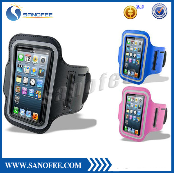 Free samples cheapest Neoprene Running Sport Armband Case Cover with key Holder and for iPhone iphone 6s
