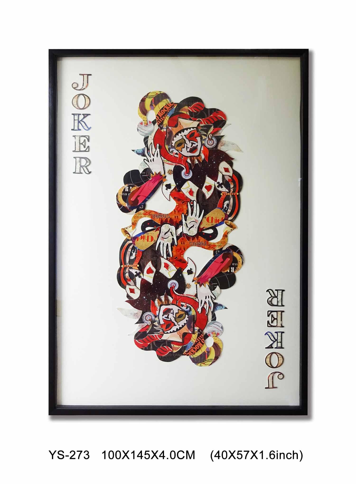 Kolase Dekorasi Dibingkai Seni Dinding Modern Dari Kartu Badut Kertas 3d Karya Seni Poker Oleh Item Tidak Ada Ys 273 Buy Collage Seni 3d Kertas Karya Seni Poker Product On Alibaba Com