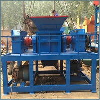 Low Cost Of Plastic Recycling Machine/Wood Shredder with CE