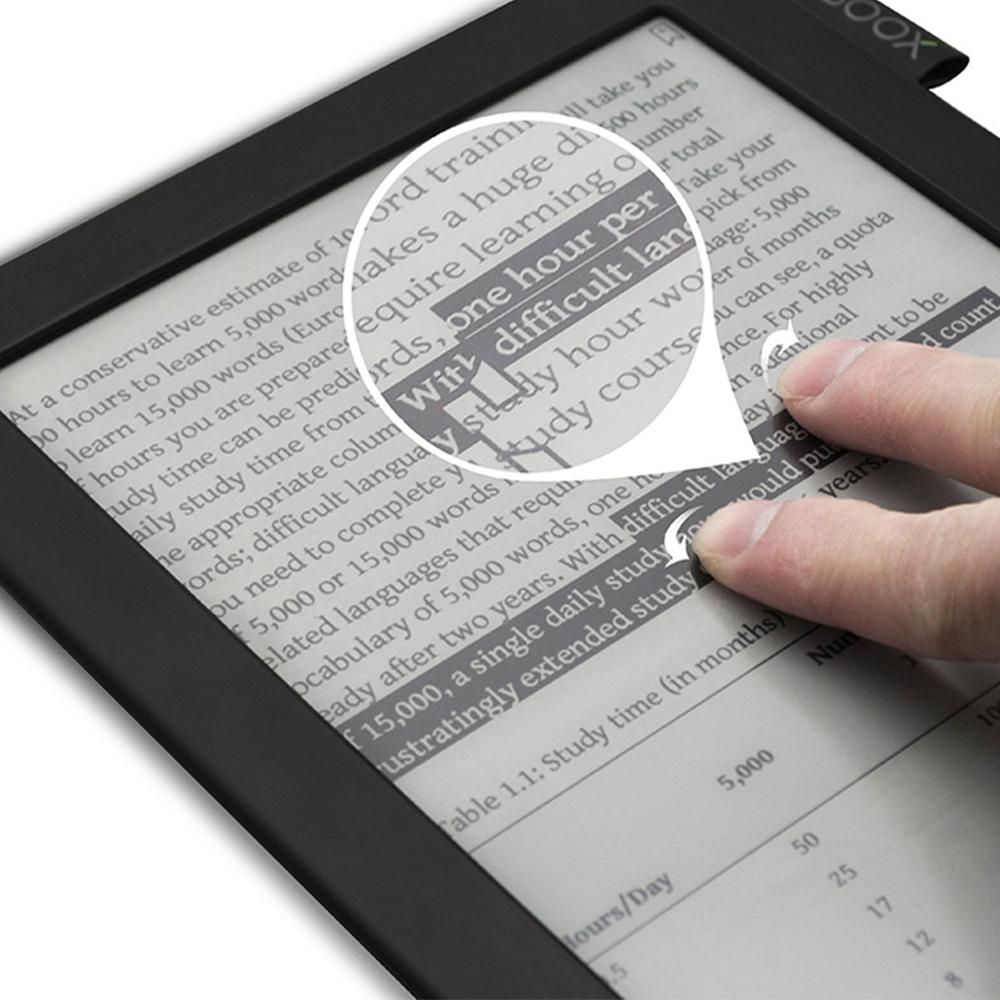 Best selling touch screen e ink ebook reader 9.7 inch e reader