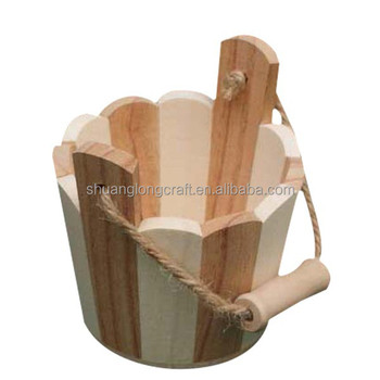 Shandong Shuanglong Small Wooden Barrel Decoration Wholesale