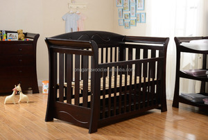 wooden Kid furniture kid cots baby cribs cheap kid bed/cot