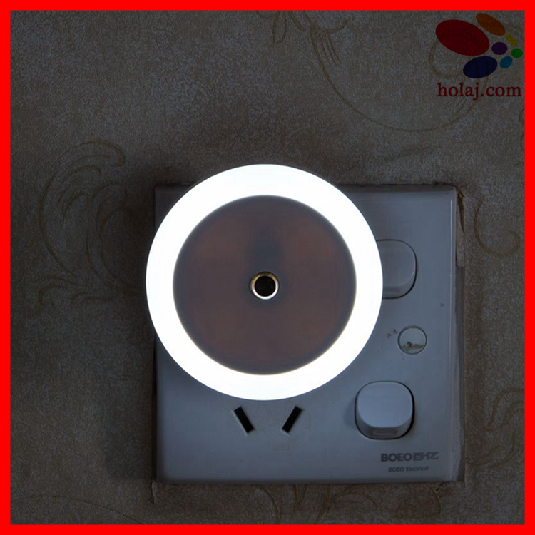 Led Night Light Lamp 0.5W AC220V White/Warm White light control Baby Nightlight For Children Bedroom and Passageway