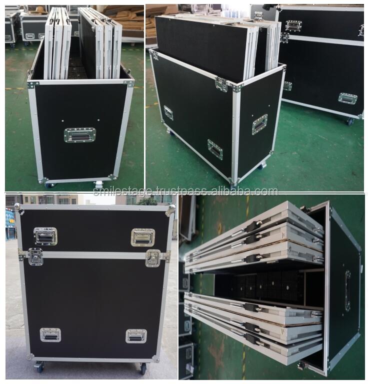 싱가포르 야외 콘서트 무대 플랫폼 알루미늄 휴대용 단계 사용 단계