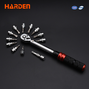 "Harden Tools 1/4"" Micrometer Torque Wrench set"