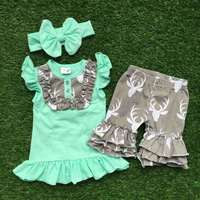 Hot Sell Girls Clothing Sets Kids Clothes Suit Children Short ...