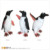 Resin Penguin Statues Large Outdoor Sculptures Walking Penguin Toy