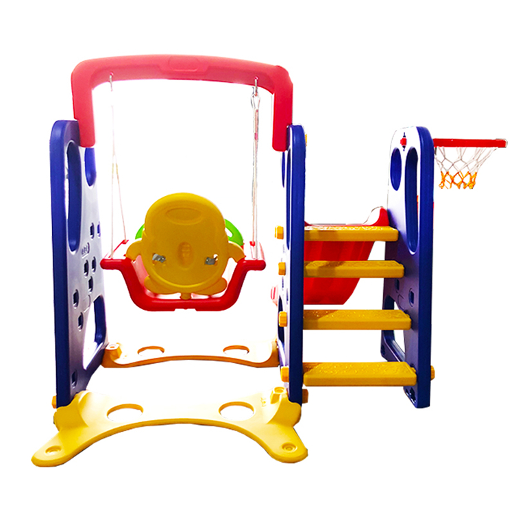 Plastic kids indoor sliding toys kids slide baby slide and swing set with the lowest price