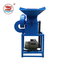 WANMA4567 Portable Corn-Crusher Grinder Small Animal Feed Mixer