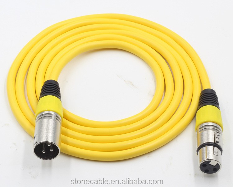 XLR Cable 10 ft Premium Series Professional Microphone Cable, Powered Speakers and Other Pro Devices Cable